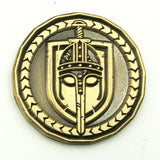 The Fighter Character Coin - Front