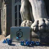 blue dice sets for dnd