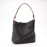 Milan Black Buffalo Leather