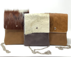 Taos Hair-On Leather Small Crossbody