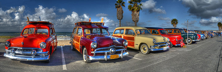 Woodie Car Show at Doheny State Beach