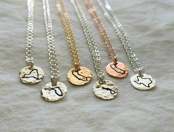 State Microtags Necklace