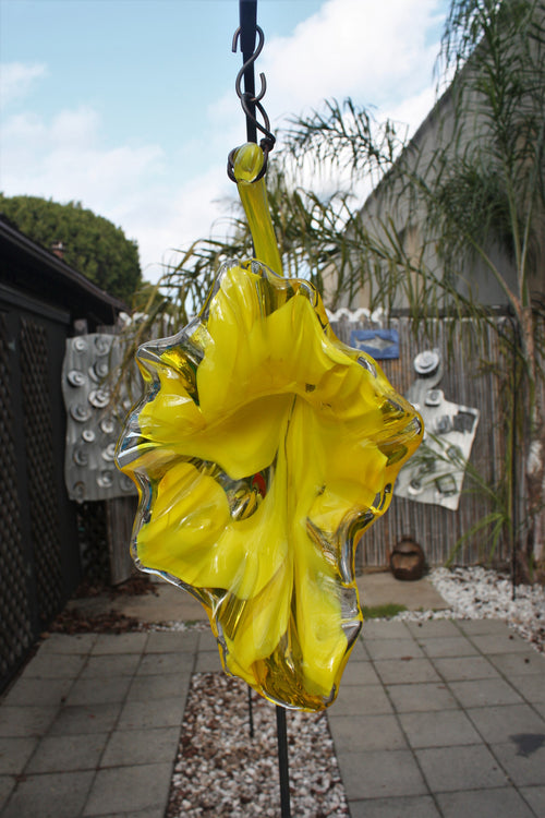 Hanging Flower - Yellow