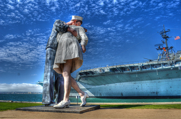 Unconditional Surrender Statue at Midway