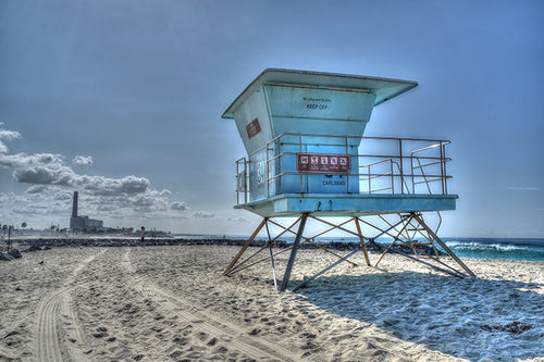 Lifeguard Tower 34 in Carlsbad
