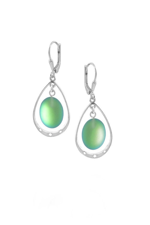 Oval w/ Loops Earrings