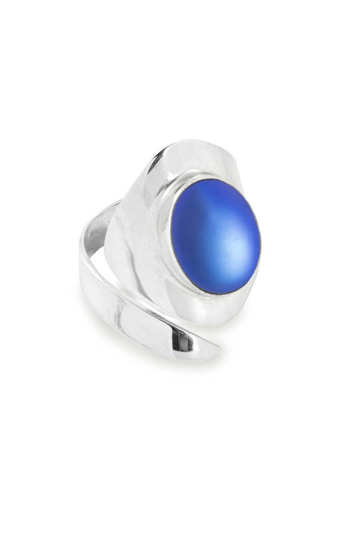 Sting Ray Oval Ring