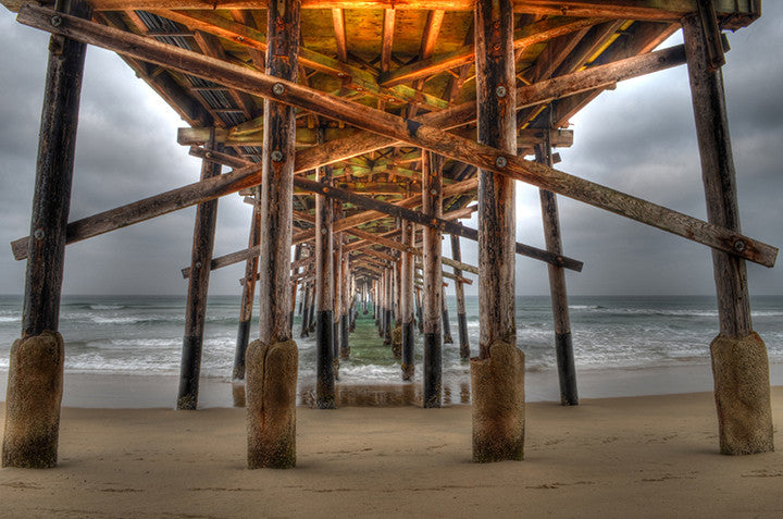 Underneath the Pier View