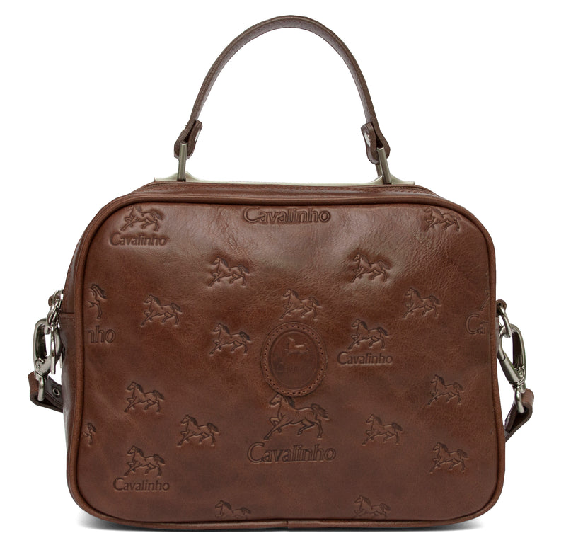 Camel Signature Crossbody