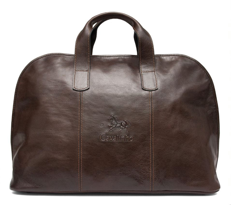 Mens Brown Weekender Bag