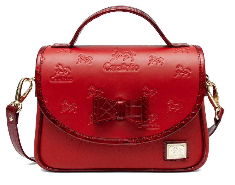 Emily Red Shoulder Bag
