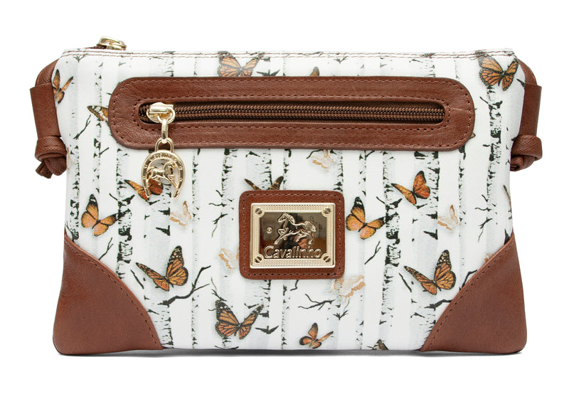 Mariposa Brown Crossbody