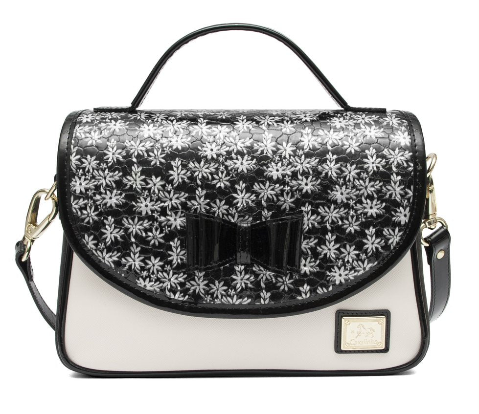 Serenity Black Shoulder Bag