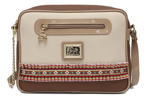 Pony's Beige Crossbody