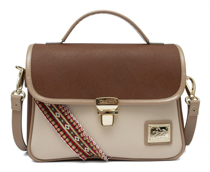 Pony's Beige Shoulder Bag