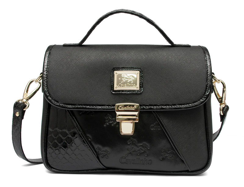 Black Horse Shoulder Bag
