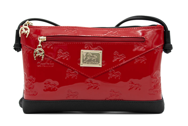 Di Cavallo Red  Crossbody