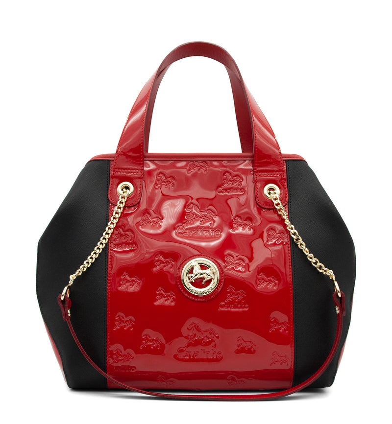 Di Cavallo Red Handbag