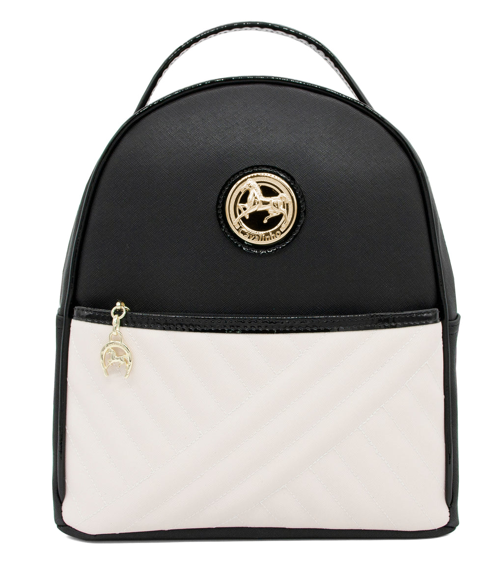 El Cavaleiro Black & White Backpack