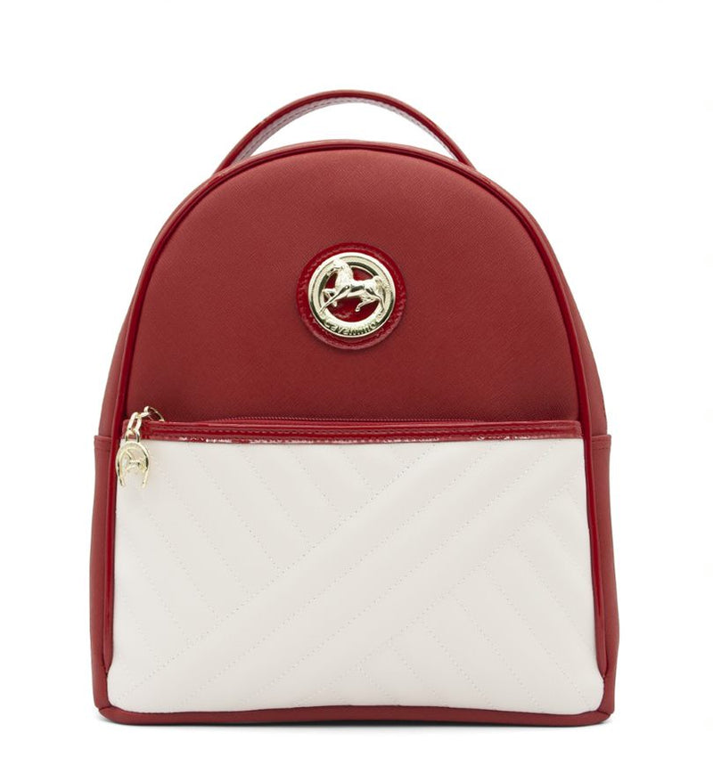 El Cavaleiro Red & White Backpack