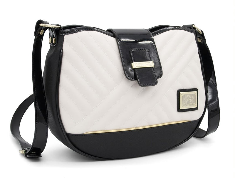 El Cavaleiro Black & White Shoulder Bag