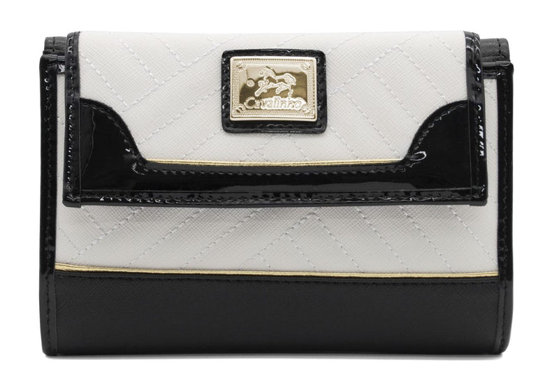 El Cavaleiro Black & White Wallet