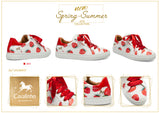 Strawberry Sneaker - Use code BOGOSHOE at checkout