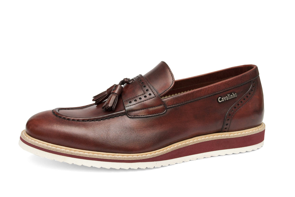 Bordeaux Tassel Loafer