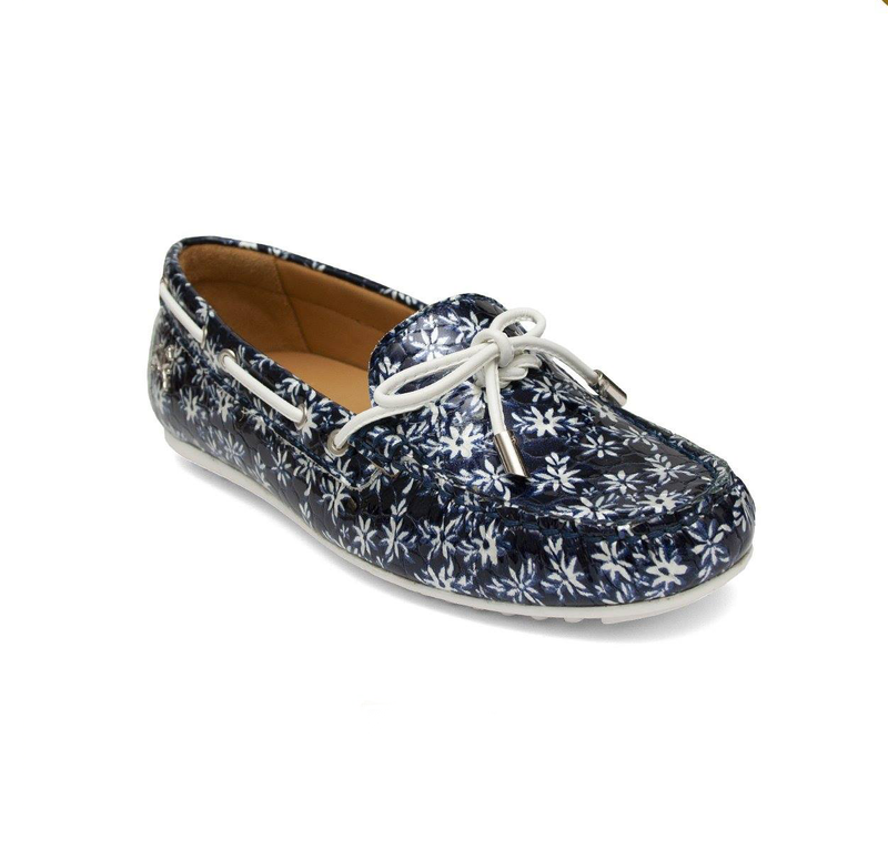 Serenity Blue Moccasins