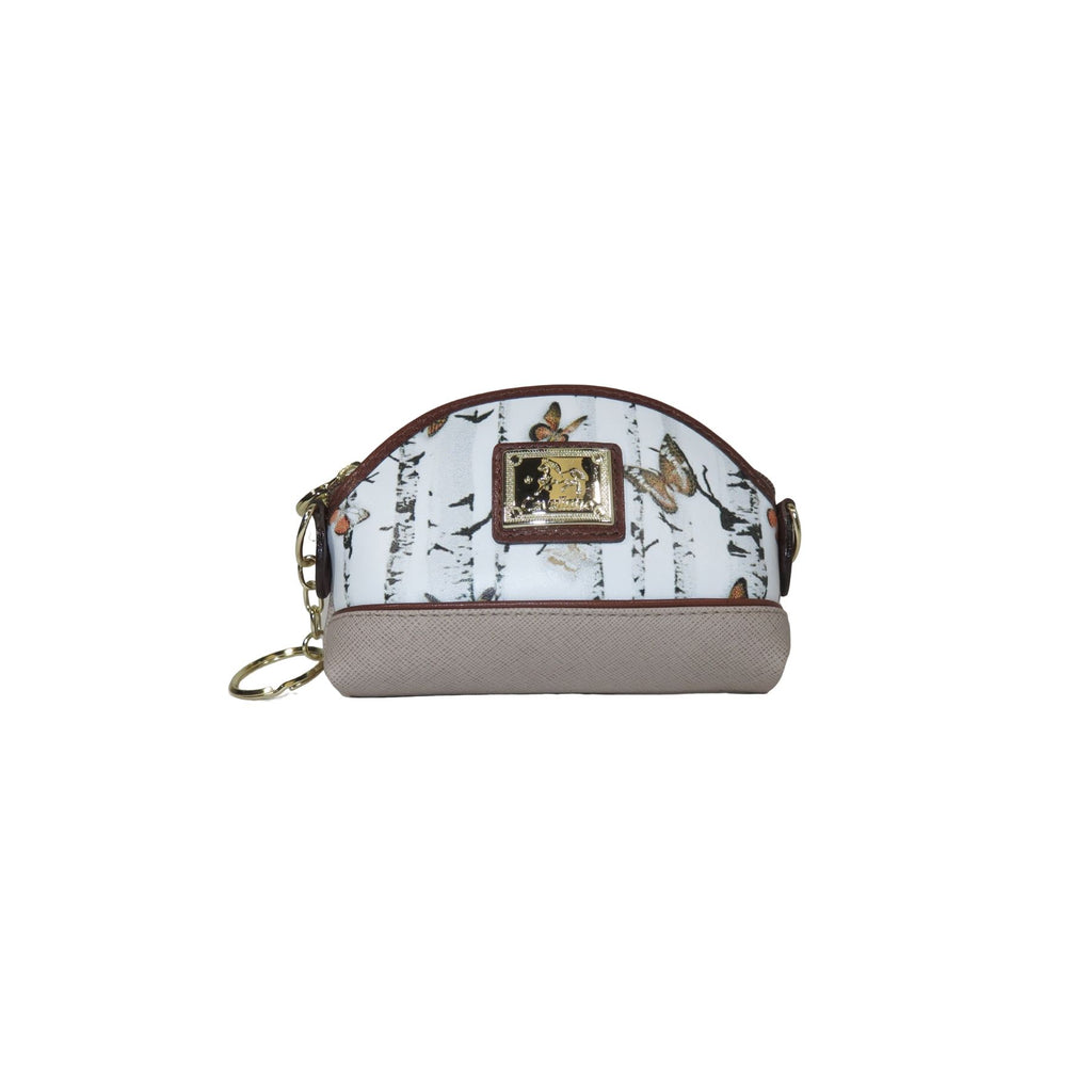 Mariposa Brown Change Purse