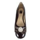 Brown Bow Ballerina Flats - Use code BOGOSHOE at checkout