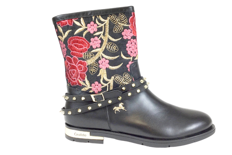 Black Fantasy Boot