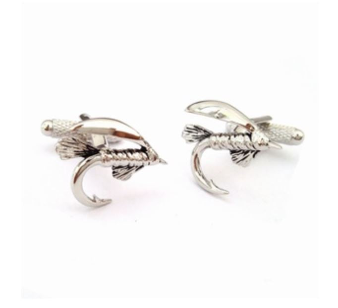 Fly Fishing  Cufflinks