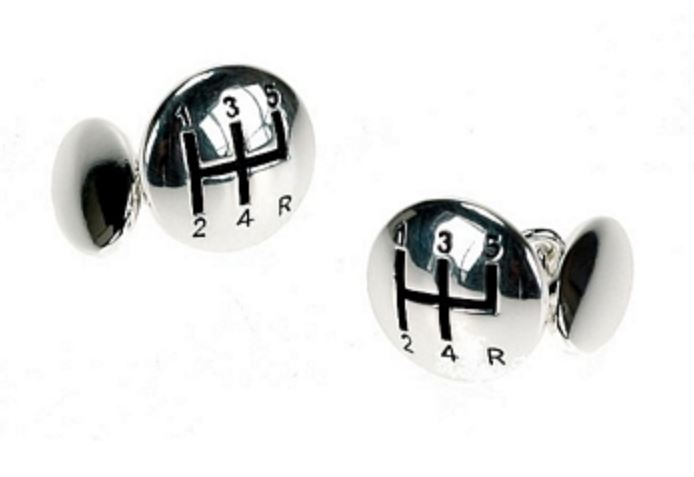 Gear Shift Chain Cufflinks