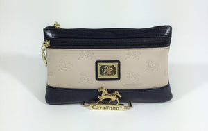 Emily Beige Cosmetic Case