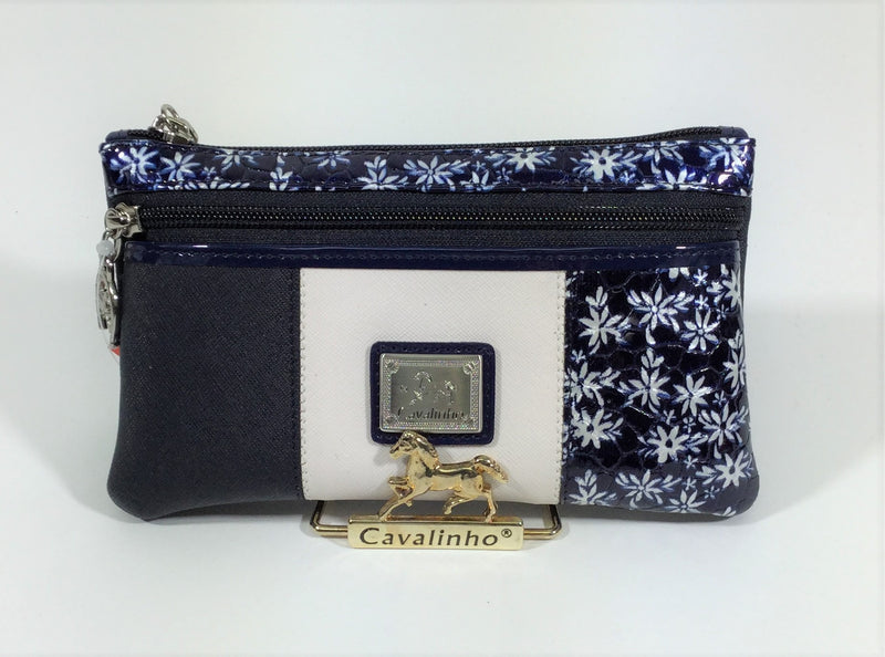 Serenity Blue Large Cosmetic Case