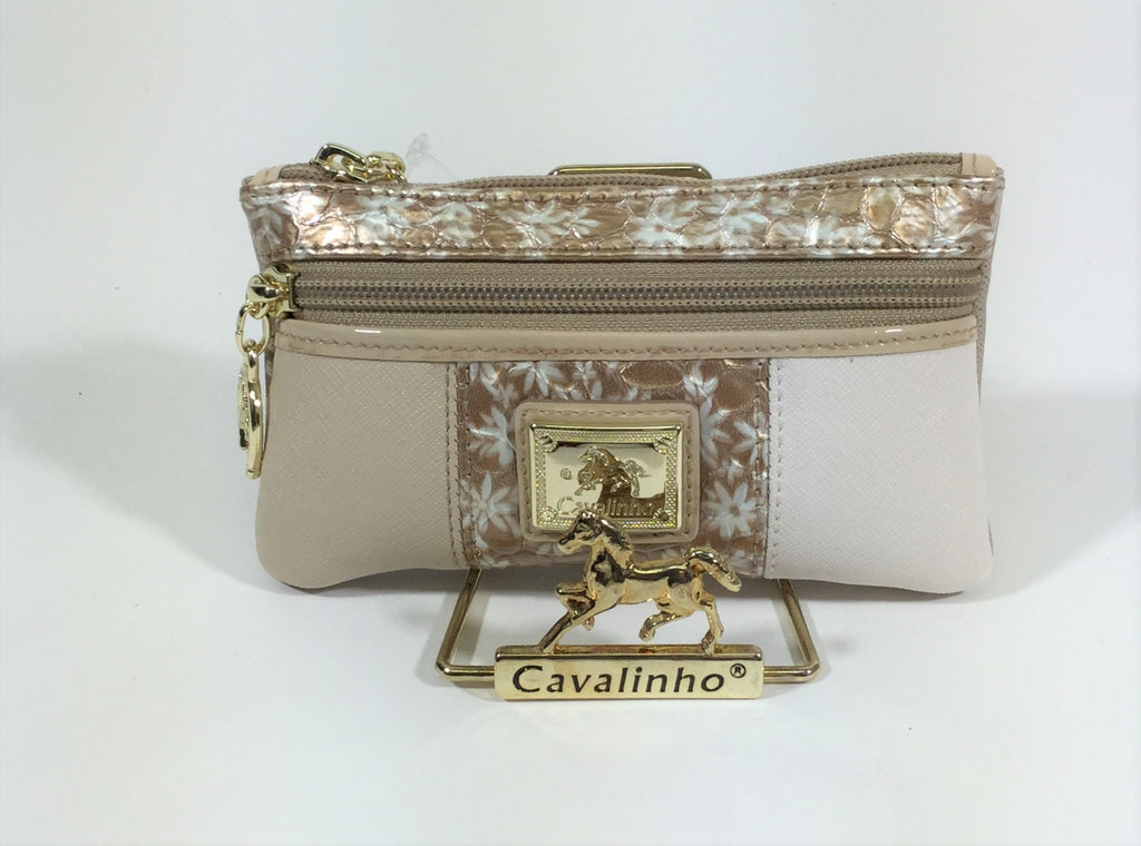 Serenity Beige Small Cosmetic Case