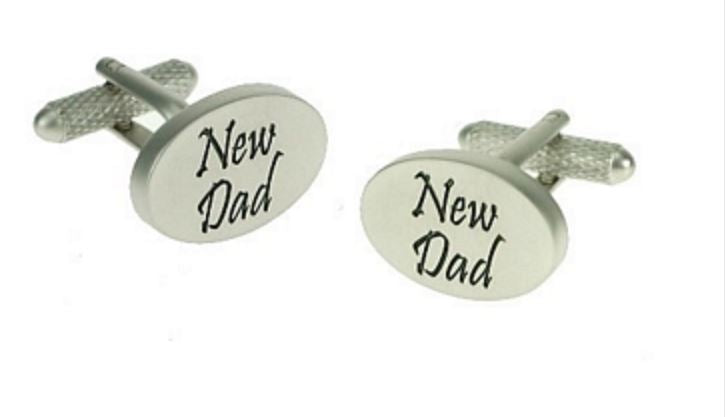 New Dad Cufflinks