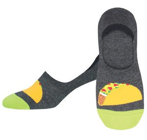 TACO TOESDAY NO SHOW LINER SOCKS