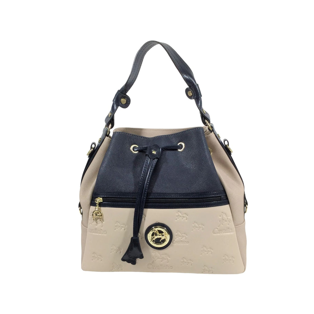 Emily Beige Bucket Bag