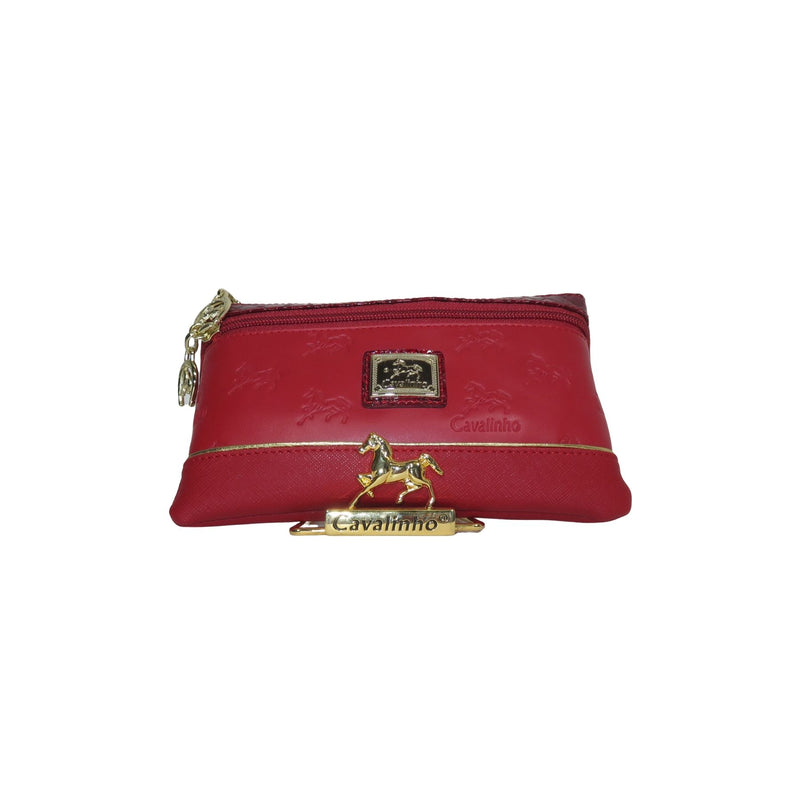 Red Signature Small Cosmetic Case