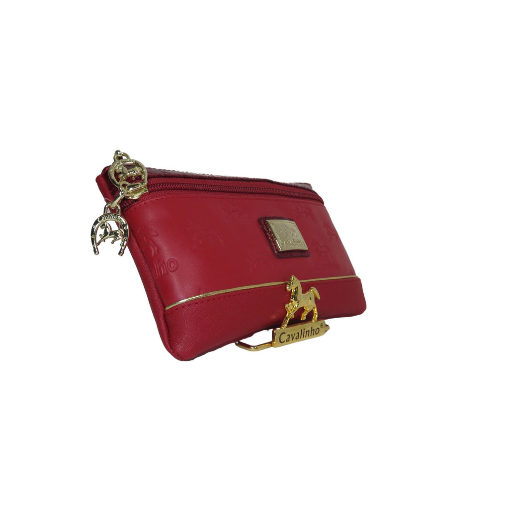 Emily Red Cosmetic Case