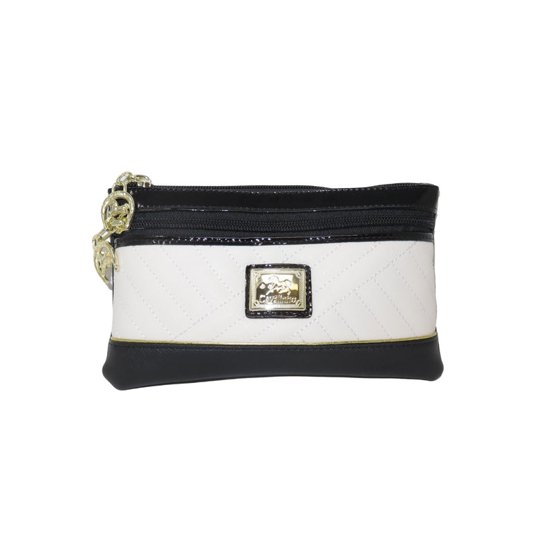 El Cavaleiro Black & White Large Cosmetic Case