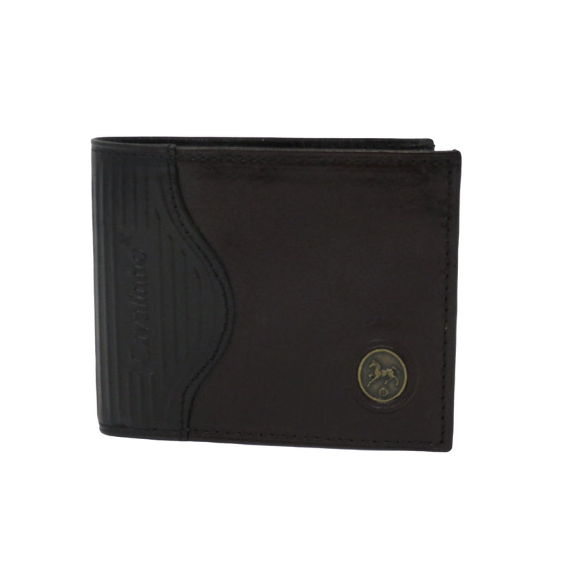 Black/Brown Men's Wallet