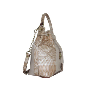 Diamond Bucket Bag