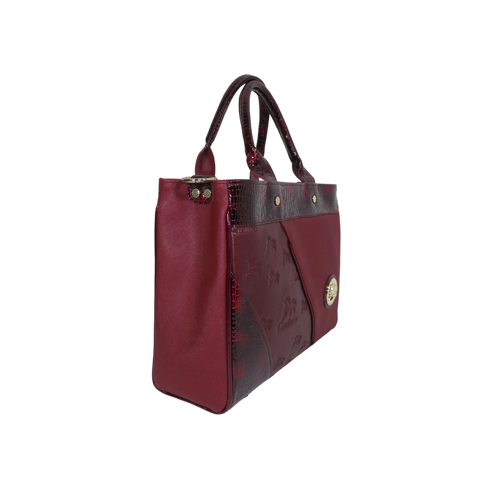 Horse Bordeaux Handbag