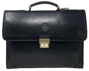 Mens Black Briefcase