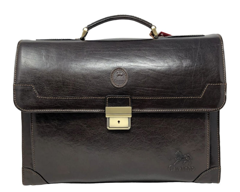 Mens Brown Briefcase