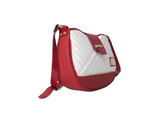 El Cavaleiro Red & White Shoulder Bag