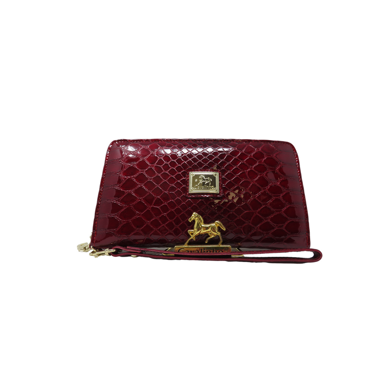 Galope Red Wristlet